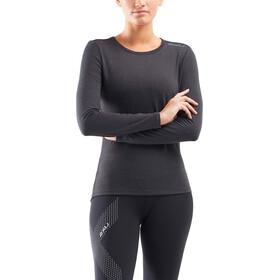 2XU Heat Base Layer LS Shirt Women black marle/silver reflective